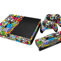 Bomb Full body Decal Skin Sticker Protector For Microsoft For Xbox one Console Controller Decorate Video Game Accessories