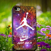 nike logo air jordan - for iPhone 4/4s, iPhone 5/5s/5C, Samsung S3 i9300, Samsung S4 i9500 Hard Plastic Case
