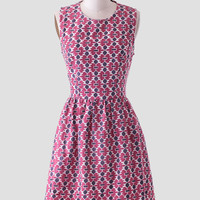 Zadie Belle Dress In Pink By Mata Traders