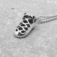 Irish Dance Necklace, Sterling Silver