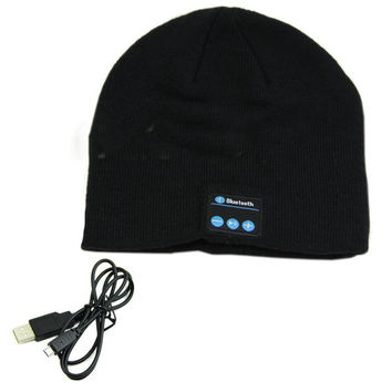 Smart Warm Beanie Hat with Built in Wireless Bluetooth Headphones Speaker Mic Colors
