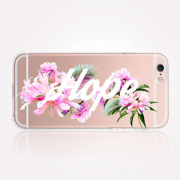 Transparent Hope iPhone Case- Transparent Case - Clear Case - Transparent iPhone 6 - Transparent iPhone 5 - Transparent iPhone 4