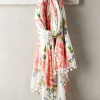 Tokyo Rose Scarf by Anthropologie in Pink Size: All Scarves
