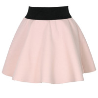 Pastel Pink Airy Mini Skirt Pink XS/S