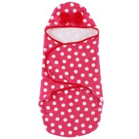 Disney Baby Bath Swaddler, Pink/Red Minnie Mouse