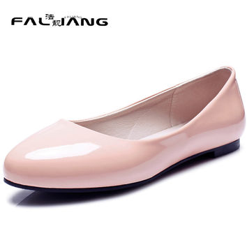 New arrival Spring Autumn plus size 11 12 13 14 15 16 17 18 19 20 Fashion Mary Janes Party womens shoes Hand sewn flat shoes