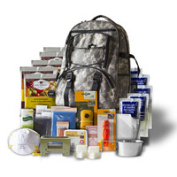 Wise Company 5-Day Emergency Survival First Aid Kit with Food & Water for One Person (Camo)