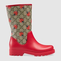 Gucci Children's GG ladybugs rain boot