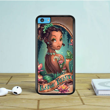 Tattooed Disney The Princess And The Frog iPhone 5 5S 5C Case | Tegalega