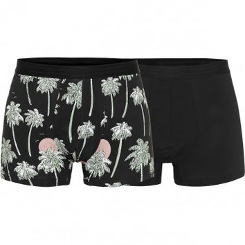 WeSC Stan Hawaii 2-Pack Underwear - Black