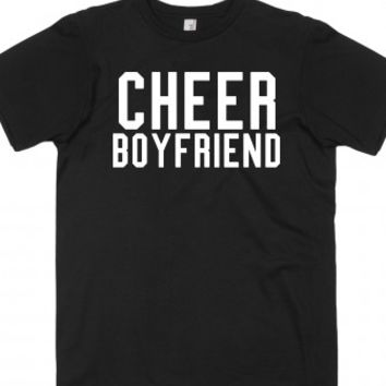 cheer boyfriend-Unisex Black T-Shirt