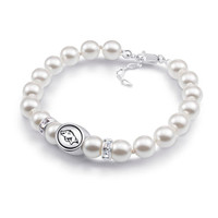 Arkansas Razorbacks Collegiate Pearl Bracelet