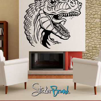 Vinyl Wall Decal Sticker Dinosaur Dino Velociraptor #KRiley118