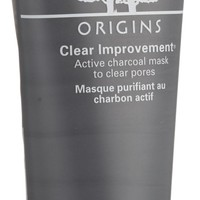 ORIGINS Clear Improvement Active Charcoal Mask to Clear Pores, 3.4 Fluid Ounce