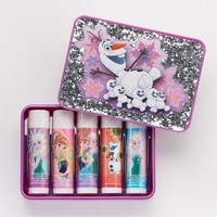Disney's Frozen Fever Boxed Lip Balm Set (Cherry/Cotton Candy/Raspberry)
