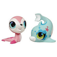 Littlest Pet Shop Totally Talented Pets Figures - Seal/Dolphin