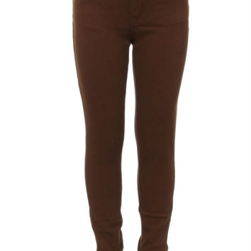 Mocha KIDS 5 Pocket Classic Pants