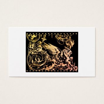 Griffin Mythological Creature Profile Card