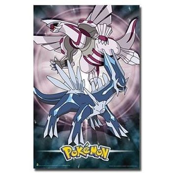 POKEMON POSTER Ruby and Pearl RARE HOT NEW 24X36