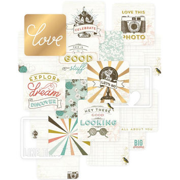 Project Life Gold Foil Adventure 4x4 Cards