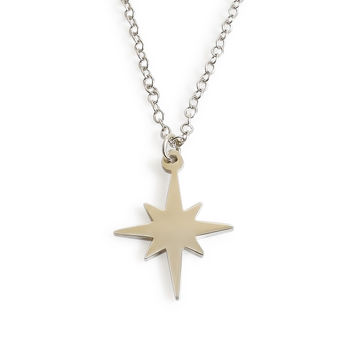 Minimalist Starburst Necklace