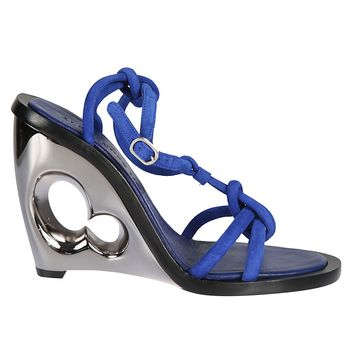 Best price on the market: Alexander McQueen Alexander Mcqueen Block Heel Sandals