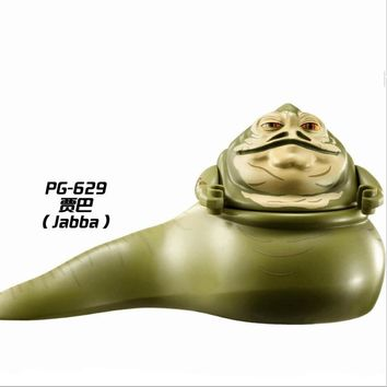 PG629 Limited Jabba Star Wars The Hut Amidala Building Blocks Action legoing The Hutt Version Best Gift Toys FOR Children Figure