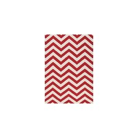 Kalora Red Chevron Area Rug