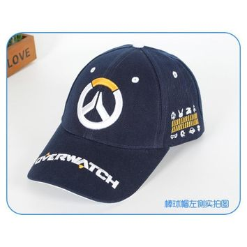 Trendy Winter Jacket New Design Anime Overwatch Baseball Caps Hot Sale Attack On Titan Embroidery Original Hats for Men Women Clothing Accessories AT_92_12