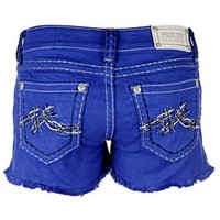 "Miss Me Shorts-Signature ""M"" Frayed  (Size 25)"