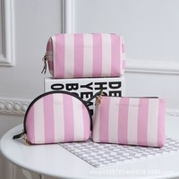 Beauty Hot Deal Hot Sale On Sale Cosmetic Storage Pink Portable Waterproof Bags Make-up Bag [12406477715]