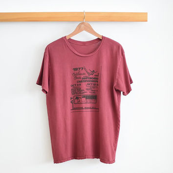 1970'S Skate Contest Tee by GN4LW