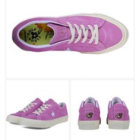 Best Deal Online Nike Converse One Star x Golf le Fleur 159434C Purple Men Women Sneaker Sport Shoes