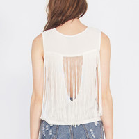 Shagging Rights Fringe Top