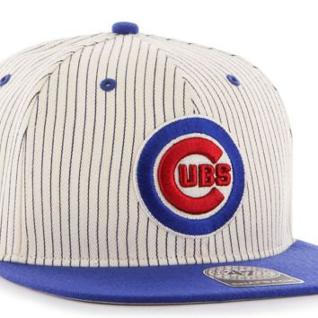 CHICAGO CUBS MLB Woodside 47 Captain Snapback Cap