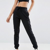 ASOS TALL Basic Joggers With Tie at asos.com