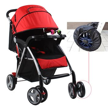 1Pc Useful Baby Stroller Dustproof Oxford Wheel Covers Keep Clean Wheelchair Protective Cover for Baby Cart Stroller Accessories