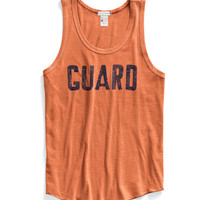 Guard Tank Top in Coral