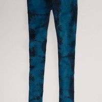 AEO 's Tie-dyed Jegging (Briar Green)
