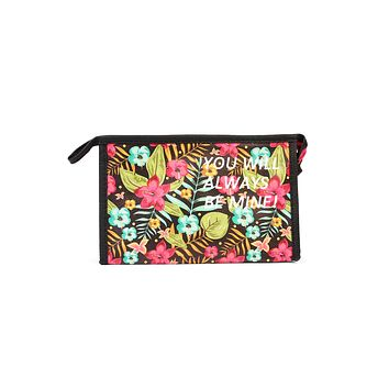 """You Will Always Be Mine"" Hawaiian Cosmetic Bag"
