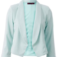 PONTE TAILORED BLAZER MINT