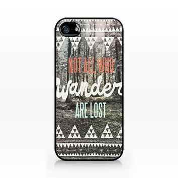 AWC-031-Wander Typography-Iphone 4/4s, Iphone 5/5s hard plastic case