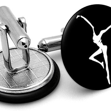 Dave Matthews Band Fire Dancer Cufflinks
