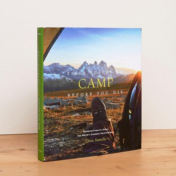 Fifty Places to Camp Before You Die Travel Book at asos.com