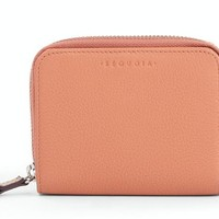 Handle First Square Small Zip Wallet - Blush