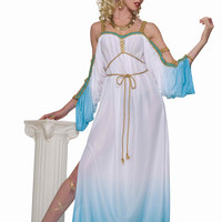 Grecian Goddess Women's Halloween Costume