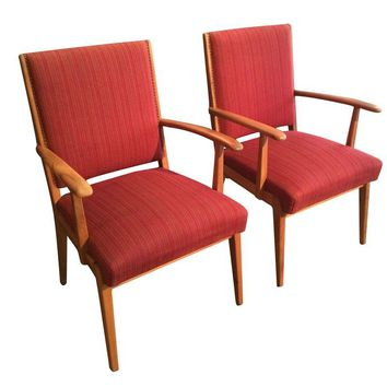 Pre-owned Danish Mid-Century Modern Arm Chairs