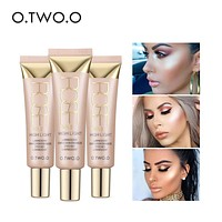 Face Highlighter Primer Base Contouring Concealer Shimmer Highlighter Whitening Moisturizer Oil-control