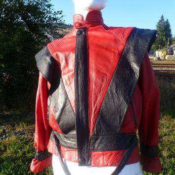 jacket leather real thriller Michael jackson