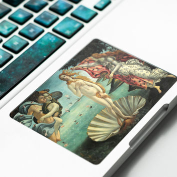 Birth of Venus Decal Touchpad Sticker